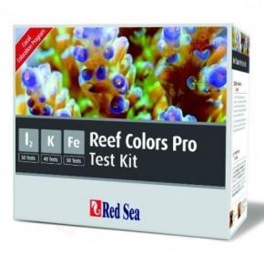 RED SEA Reef Colors Pro - Kit de tests I2, K, Fe