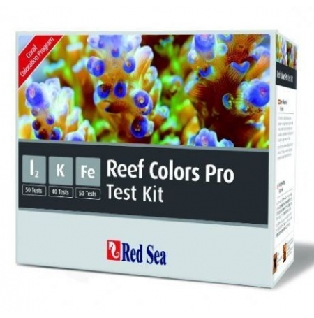 RED SEA Reef Colors Pro Test Kit (I2, K, Fe)