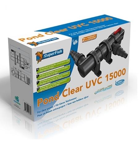 SUPERFISH Pond Clear 15000 UVC, filtre UVC - 18 Watts