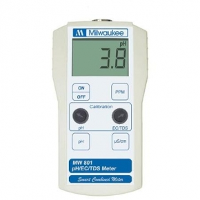 MILWAUKEE MW801 - 3 en 1 Ph/EC/TDS Meters