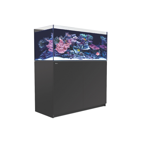 Aquarium RED SEA Reefer XL 425 + Meuble - Noir + RED SEA Coral Pro 22 Kilos OFFERT