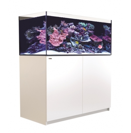 Aquarium RED SEA Reefer XL 425 + Meuble - Blanc + RED SEA Coral Pro 22 Kilos OFFERT
