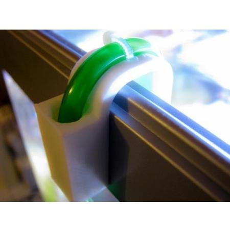 AQUA CONNECT Fixe Tuyau - Pour vitre de 20mm maximum
