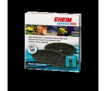 EHEIM Coussins de mousse au charbon actif Classic 600 (Eheim 2217) x3