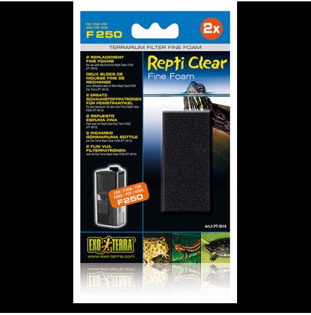 EXO TERRA Repti Clear Fine Foam, Mousse fine Repti Clear F250 (x2)