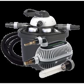 VELDA Clear Control 25 Set - Filtre + UV + Pompe pour filtre