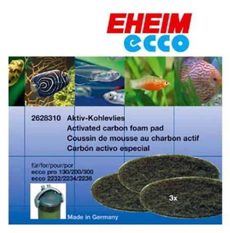 EHEIM Mousses Charbon Actif - Pour Filtre Ecco Pro