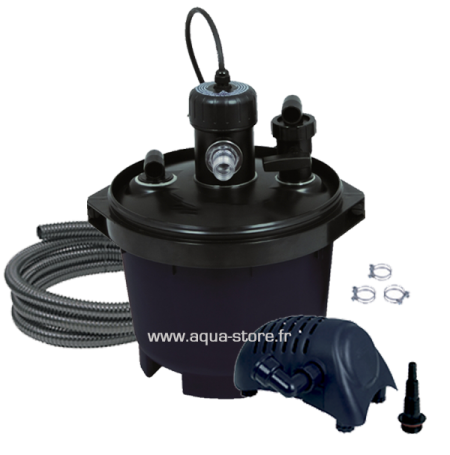 UBBINK BioPressure 3000 PlusSet - Filtre + UV + Pompe pour Bassin jusqu'à 3000 L