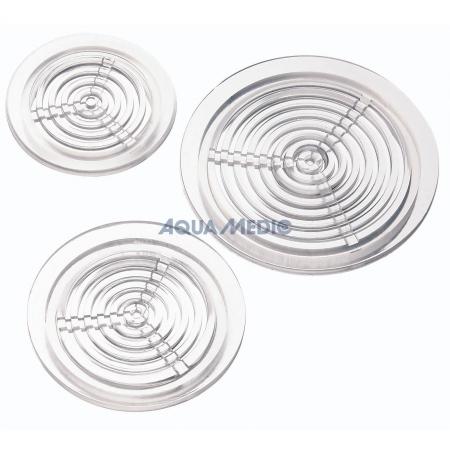 AQUA MEDIC Grille Ronde Transparente - 63 mm
