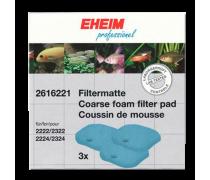 EHEIM 2616221 Mousse Bleue Expérience et Professionnel 150/250/250T (x3)