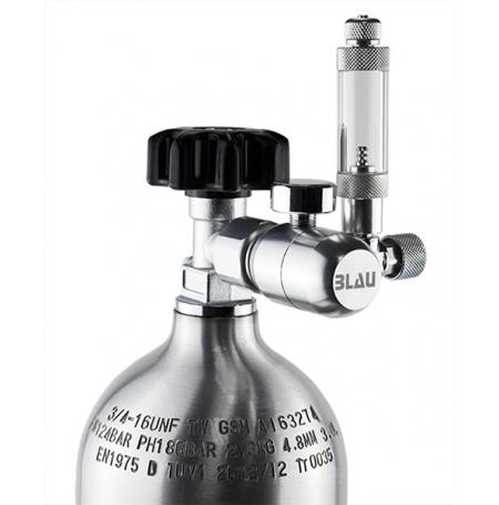 BLAU Détendeur CO2 avec compte-bulles intégré