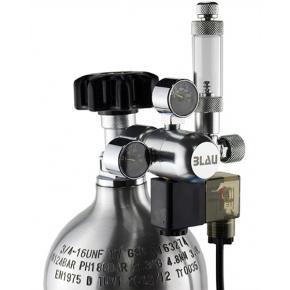 BLAU Détendeur CO2 avec compte-bulles et électrovanne intégrés