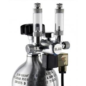 BLAU Détendeur CO2 avec Double compte-bulles et électrovanne intégrés