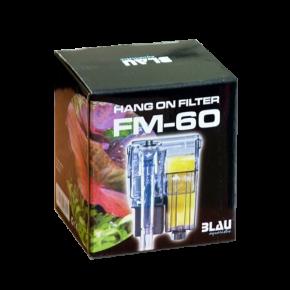 BLAU Hang on Filter FM 60 - Filtre pour aquarium jusqu'à 15 L