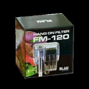 BLAU Hang on Filter FM 120 - Filtre pour aquarium jusqu'à 30 L