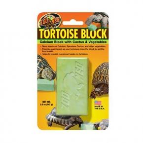 ZOO MED Tortoise Block, calcium, légumes et cactus - 142 g