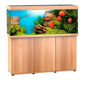 Aquarium Juwel Rio 400/450 + Meuble - Chêne Clair