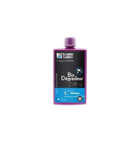 AQUARIUM SYSTEMS Reef Evolution Bio-dégradeur - 250ml