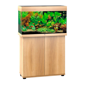Aquarium Juwel Rio 125 + Meuble - Chêne Clair