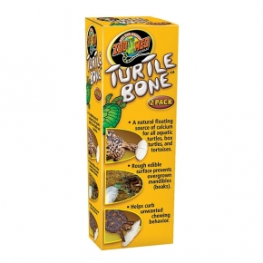 ZOOMED Turtle Bone, os de seiche pour tortue - Lot de 2