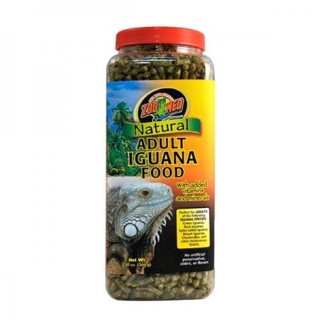 ZOOMED Natural Iguana Food Adult, nourriture agames barbus - 567 g