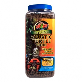 ZOOMED Natural Aquatic Turtle Food - Growth, aliment tortues d'eau - 369 g