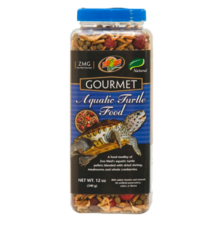 ZOOMED Gourmet Aquatic Turtle Food, aliment tortues d'eau - 312 g