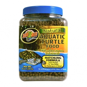 ZOOMED Natural Aquatic Turtle Food - Hatchling, aliment jeunes tortues d'eau - 226 g
