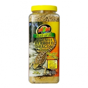 ZOOMED Natural Bearded Dragon Food - Juveniles, nourriture pogonas - 567 g