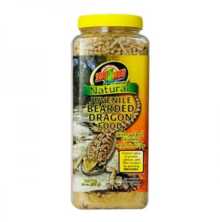 ZOOMED Natural Bearded Dragon Food - Juvenile, nourriture pogonas - 567 g