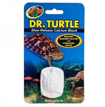 ZOOMED Dr Turtle, calcium pour tortues d'eau - 14 g