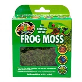 """ZOOMED Frog Moss, sphaigne, mousse """"oreiller"""" pour vivarium - 1,31 llitre"""