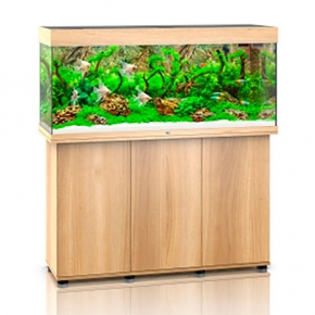 Aquarium Juwel Rio 240 + Meuble - Chêne clair