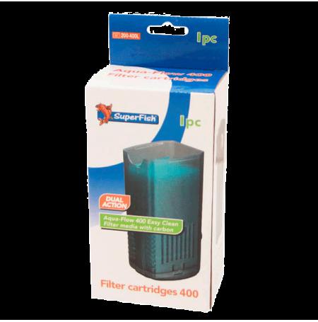 SUPERFISH Filter Cartridge Easy Click - Pour Filtre AquaFlow 400