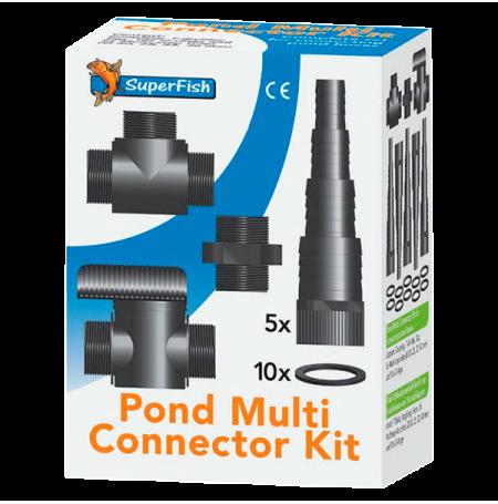 SUPERFISH Pond Multi Connector Kit Ø 20 / 25 / 32 / 40 mm