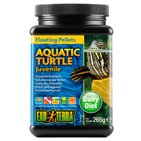 EXO TERRA Floating Pellets Aquatic Turtle Juvenile - 265g