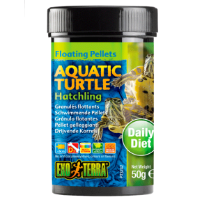 EXO TERRA Floating Pellets Aquatic Turtle Hatchling - 50g