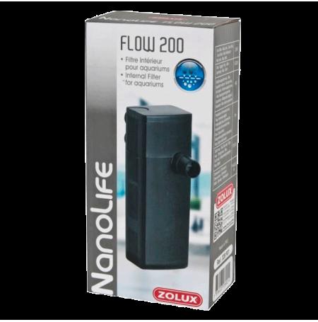 ZOLUX NanoLife Flow 200, filtre aquarium jusqu'à 40 litres - Débit : 175 l/h