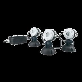 OASE LunAqua Mini LED - 3 Mini-Spots pour bassin