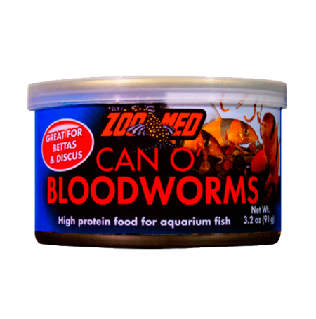 ZOOMED Can'O Bloodworms - 91 g