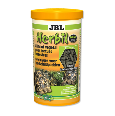 JBL Herbil, nourriture principale tortues - 1000 ml