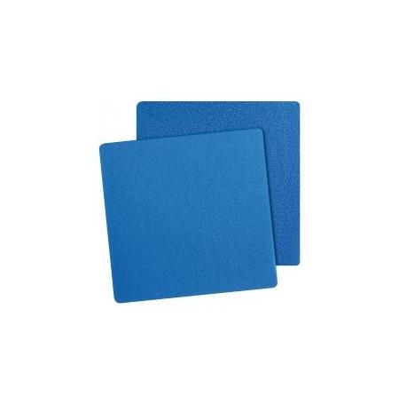Mousse Bleue 100x100x3 cm maille fine