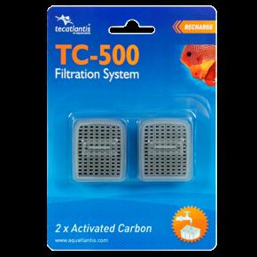 AQUATLANTIS Carbon TC-500, recharge filtre pour Aqua Tortum 75