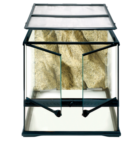 EXO TERRA Natural Terrarium Small/Wide - 45x45x45 cm - Livraison incluse