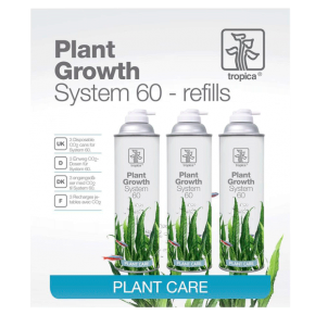 TROPICA Plant Growth System 60 REFILLS - Lot de 3 recharges