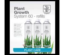 TROPICA Plant Growth System 60 REFILLS - Lot de 3 recharges