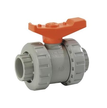 Vanne PVC diamètre 40mm