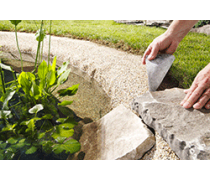 Mat riel pour bassin de jardin avec poissons aqua store for Materiel de bassin