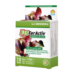 DENNERLE E15 Feractiv - 20 Tablettes