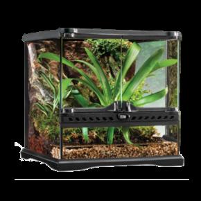 EXO TERRA Natural Terrarium Mini/Wide - 30x30x30 cm - Livraison incluse